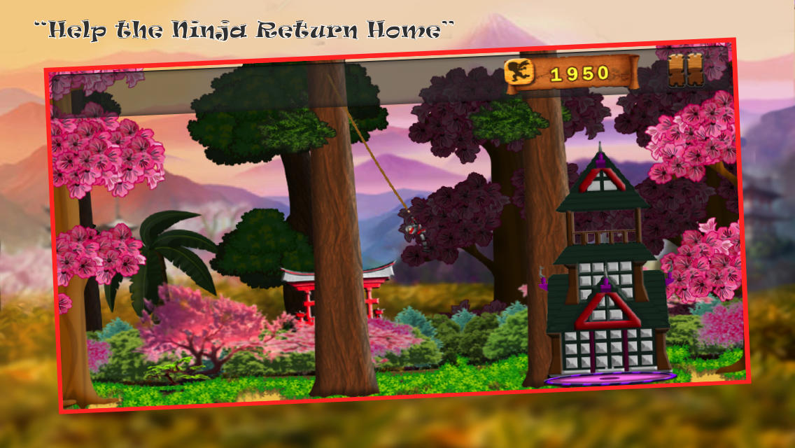 Ninja Mega Swing Pro - A China Era Rope Frontier and a Sonic Boom Alpha Warrior