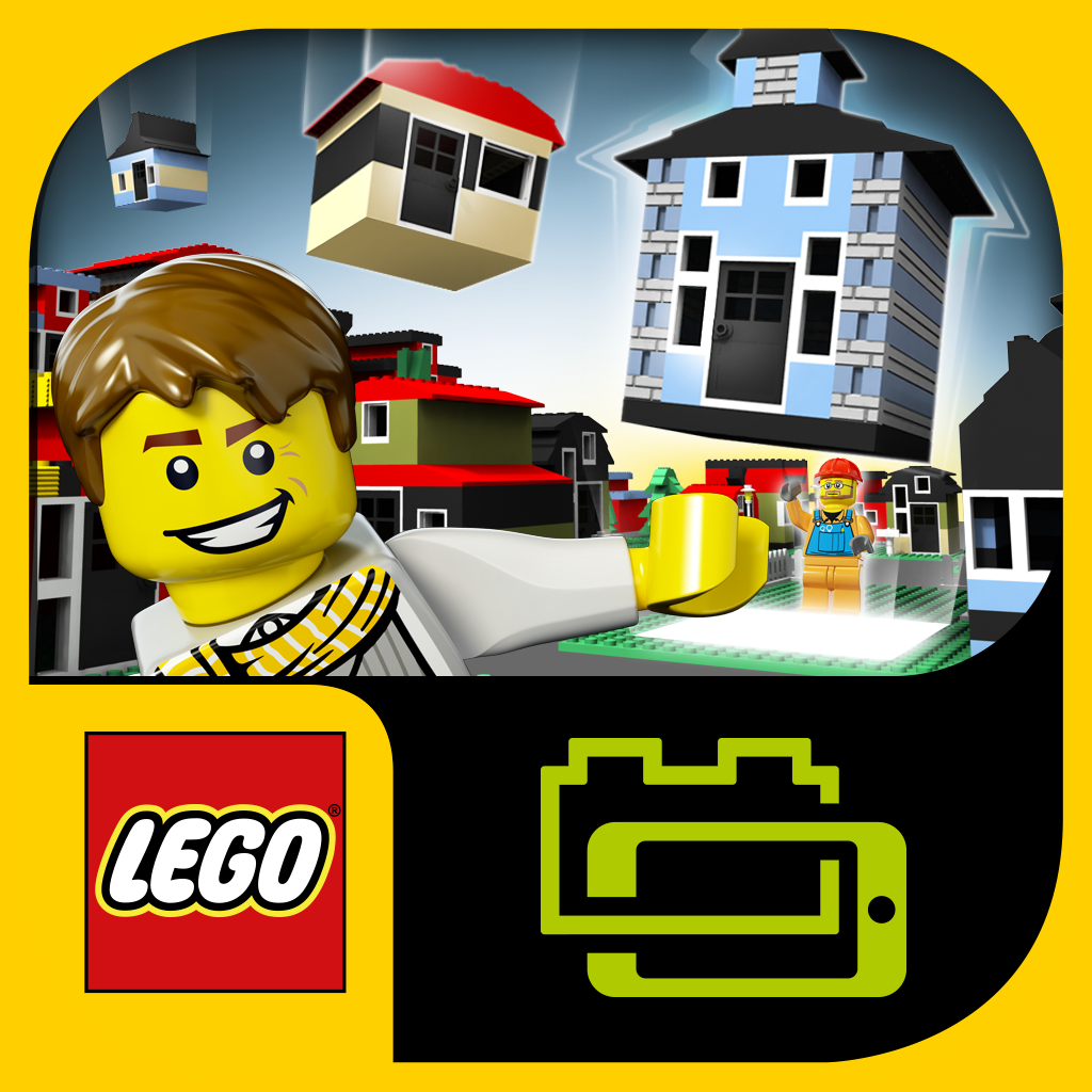 Lego fusion toys that combine brick building fun and ios for House construction app
