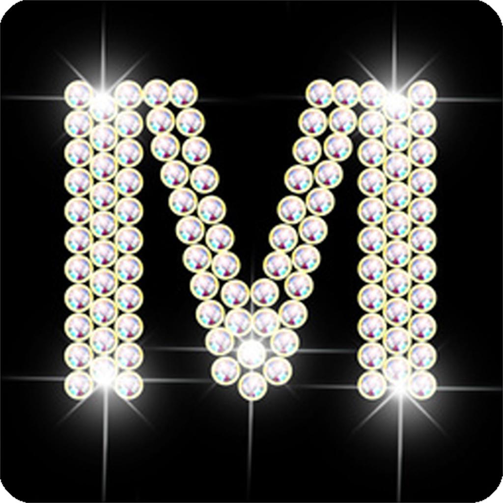 Diamond letter M | FREE iPhone & iPad app market
