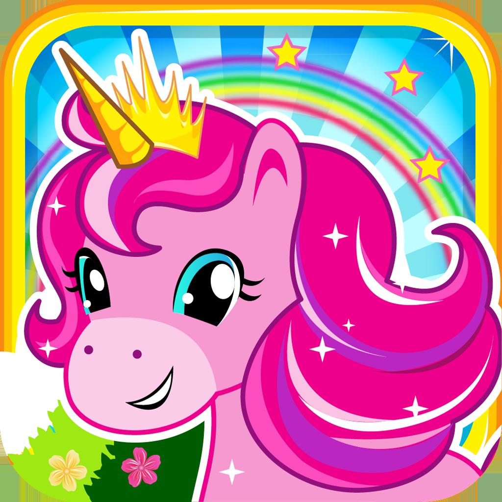 Pony Unicorn Princess - Little Pet Ponies and Pretty Horse Farm Run