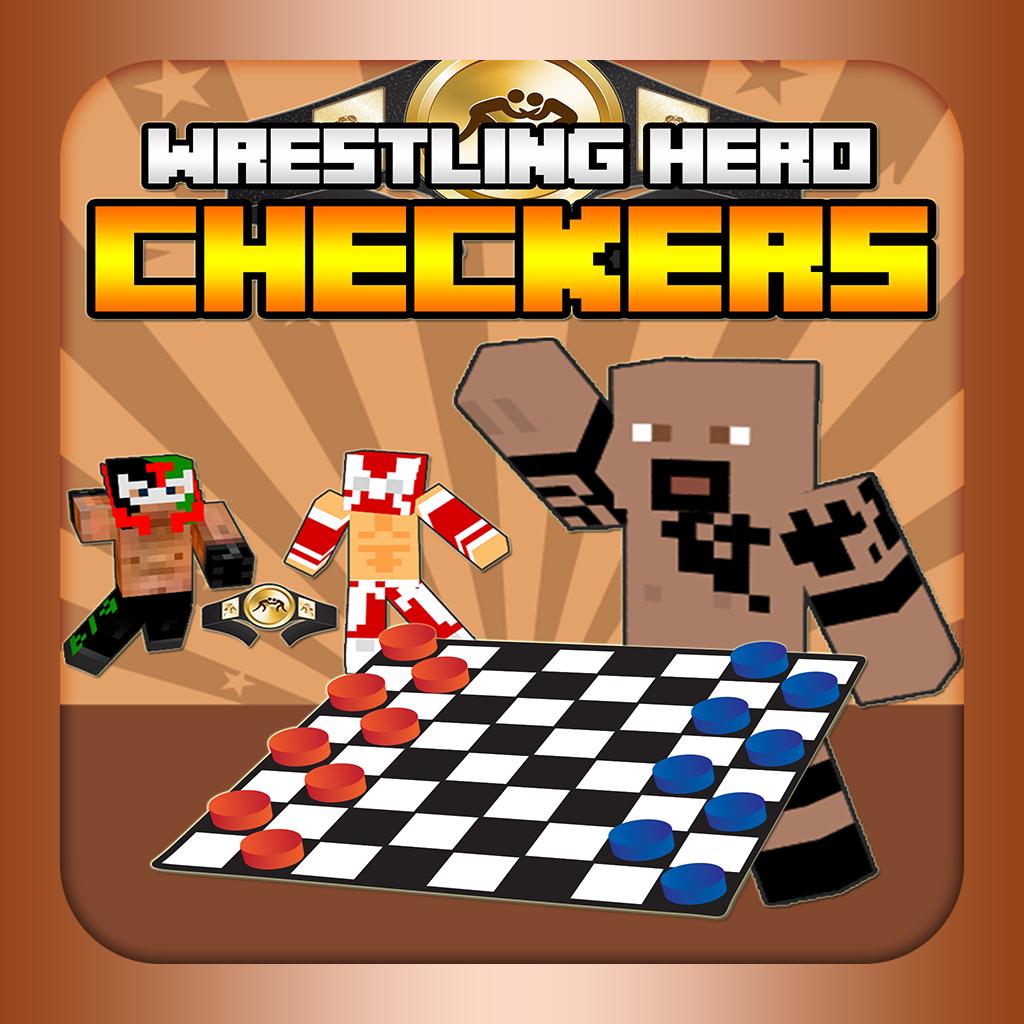 Wrestling Hero Skin Checkers - WWE Block World Edition