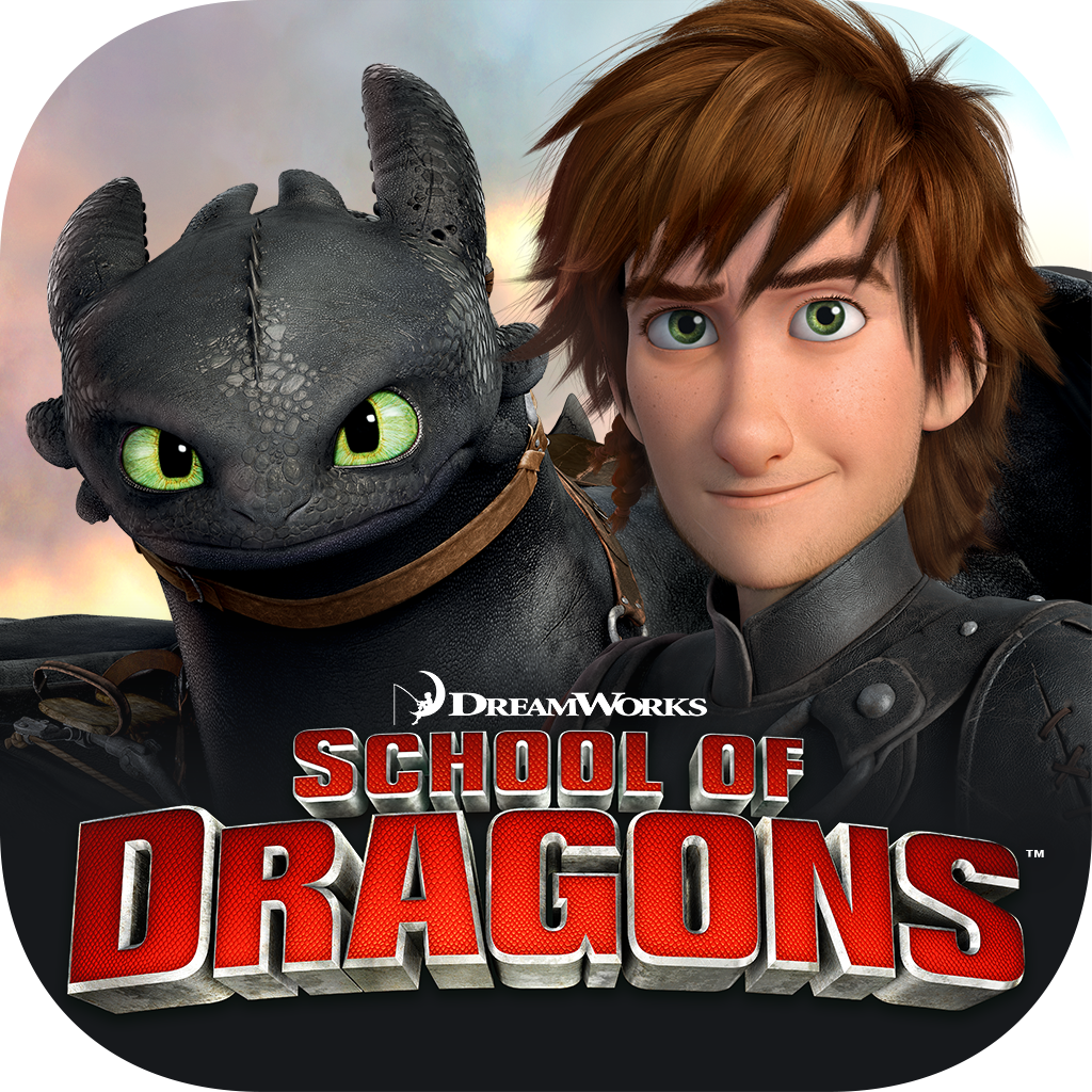School of Dragons - A How to Train Your Dragon Game