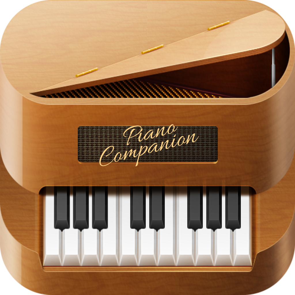Piano Companion: chords, scales, stave, circle of fifths, chord progression