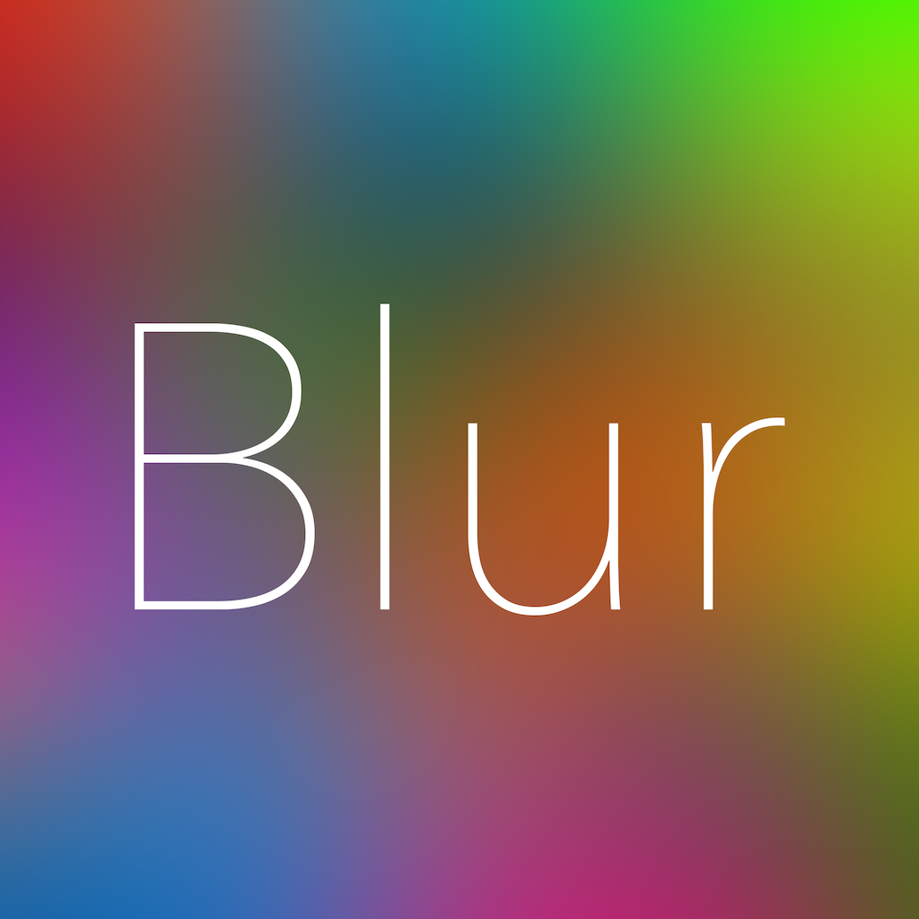 Blur - Create your own Wallpapers