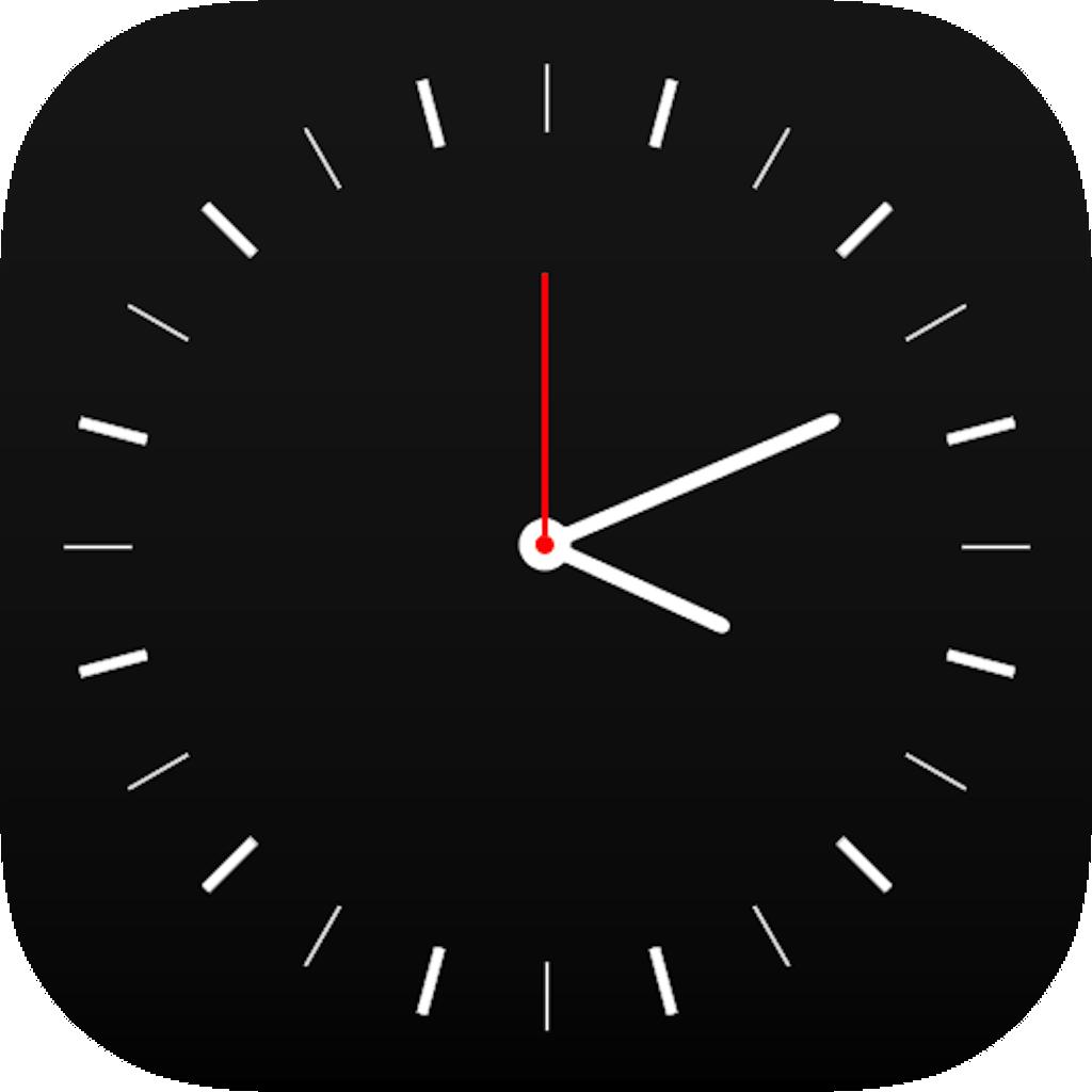 Clock B|W