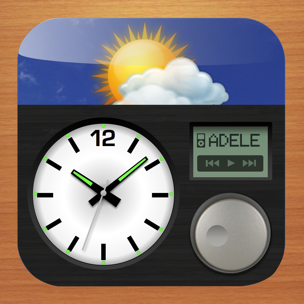 Lifelike Alarm Clock and Weather HD