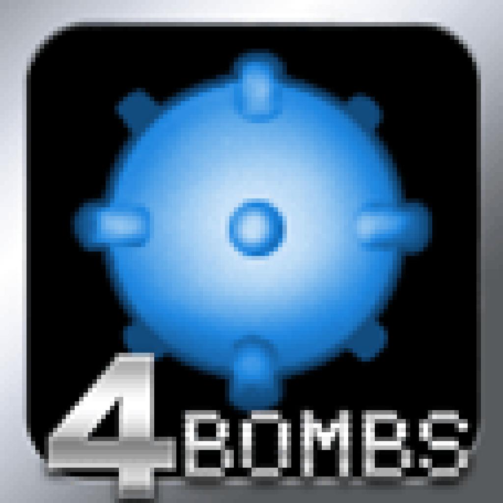 Minesweeper : 4 Bombs Logic