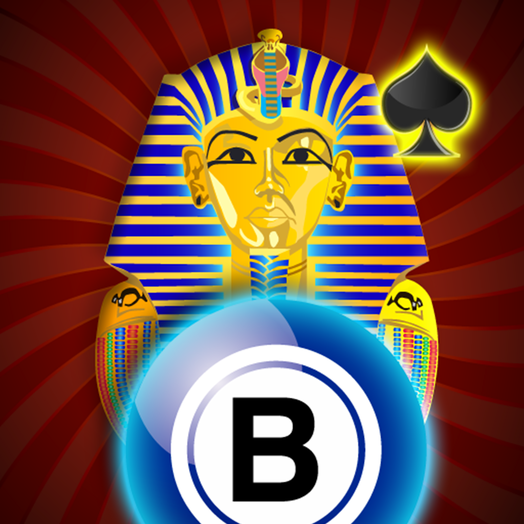 All In Pharaoh's Casino with Bingo, Slots, Joker Poker, Classic Blackjack, Vegas Roulette and Prize Wheel of Fun and Fortune! by Better Than Good Games
