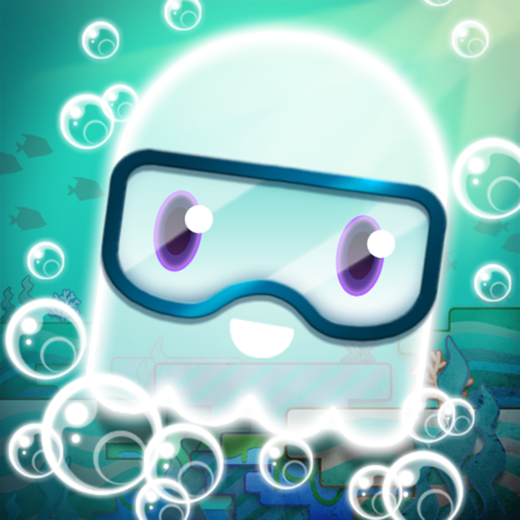 Tiny Jellyfish - Help The Lost Fish Keep A Good Attitude!
