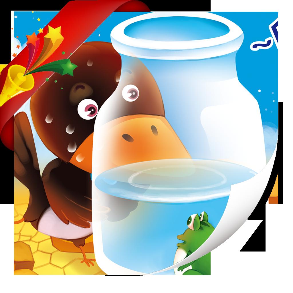 乌鸦喝水-小喇叭绘本-yes123(免费)