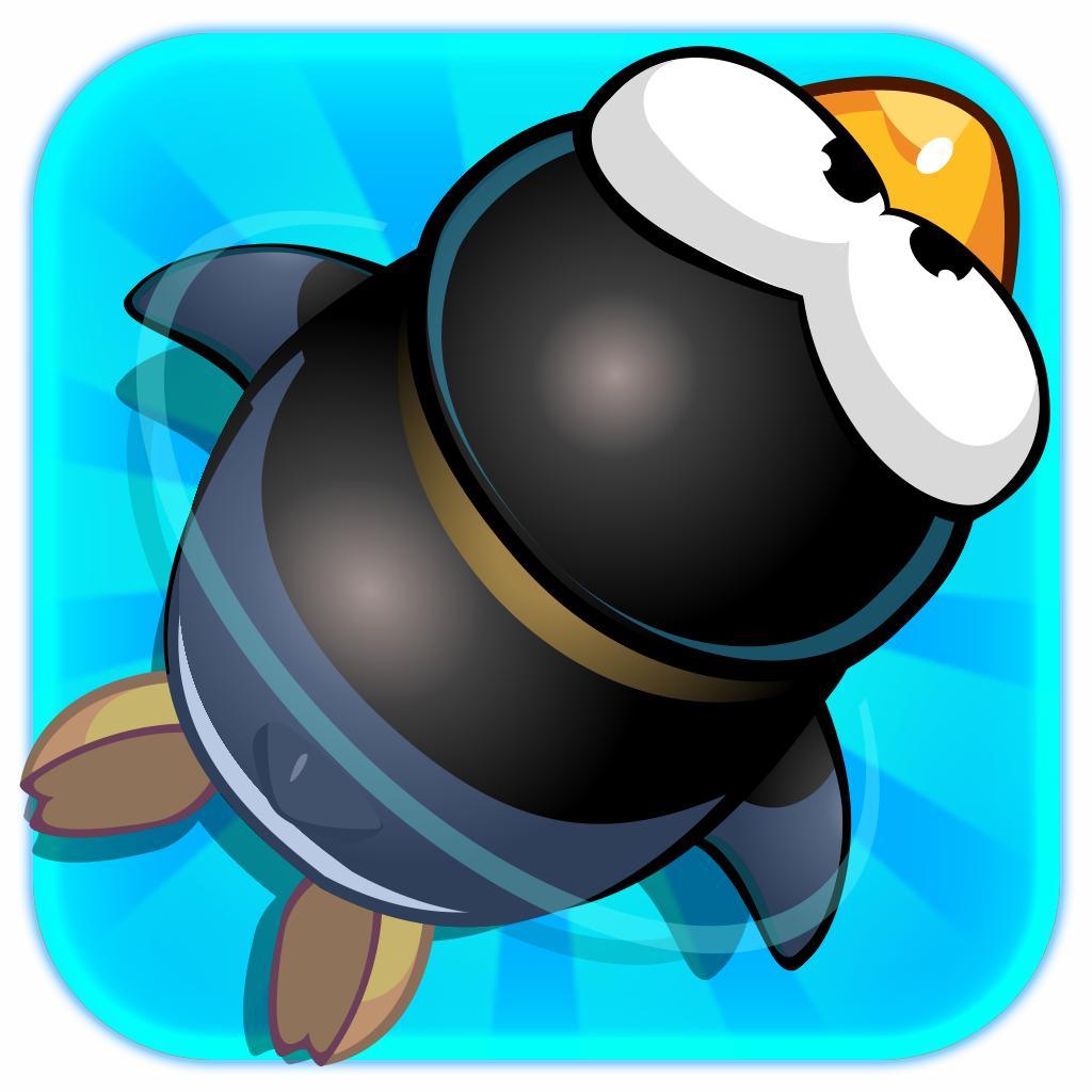 Fun Penguin Swim - Free Multiplayer Racing Game