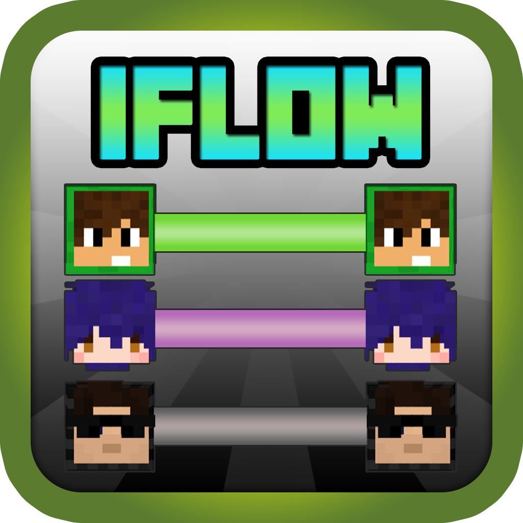 iFlow Pixels for Minecraft : Free Flow Puzzle in Pixel Box Craft Style ( Unofficial )