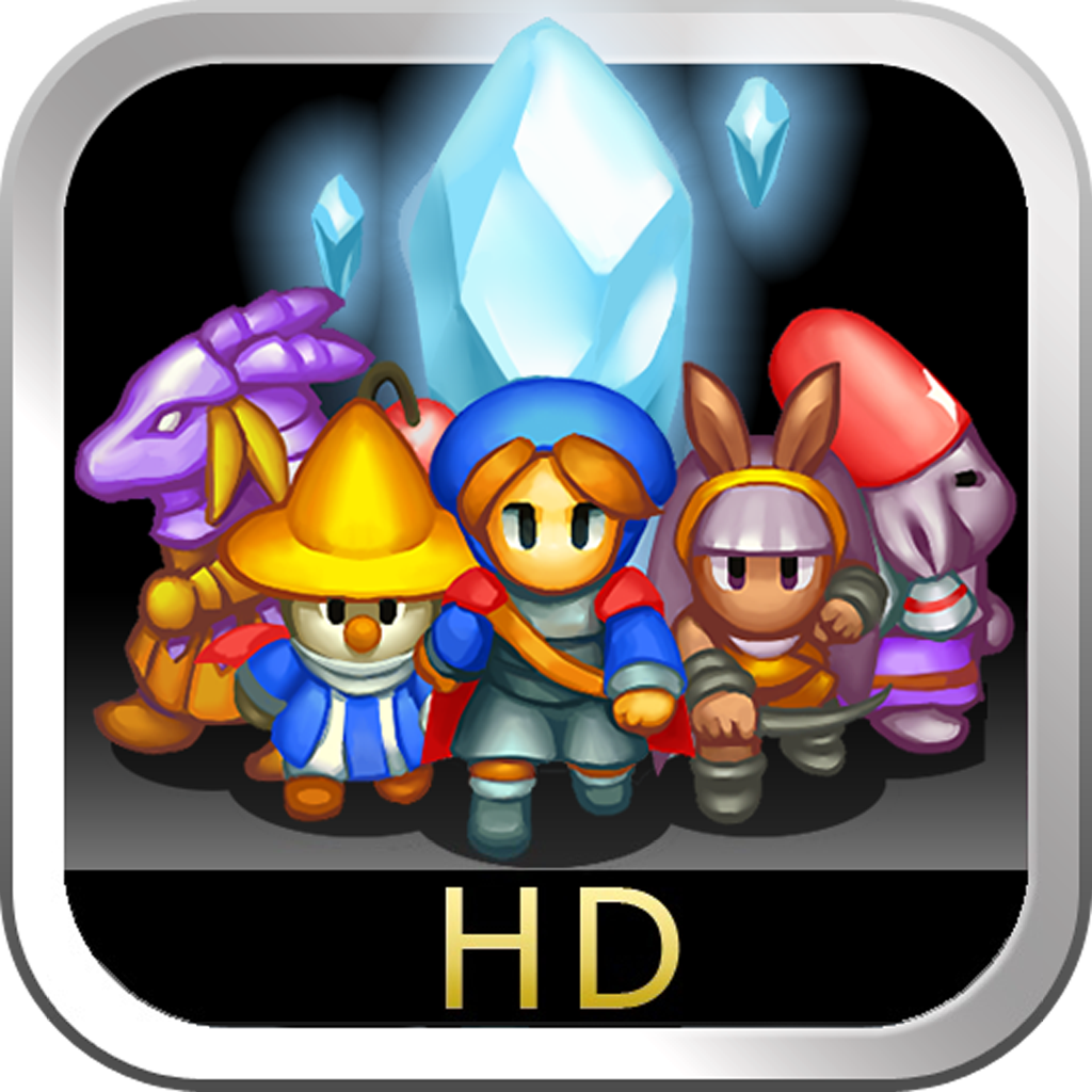 CRYSTAL DEFENDERS for iPad