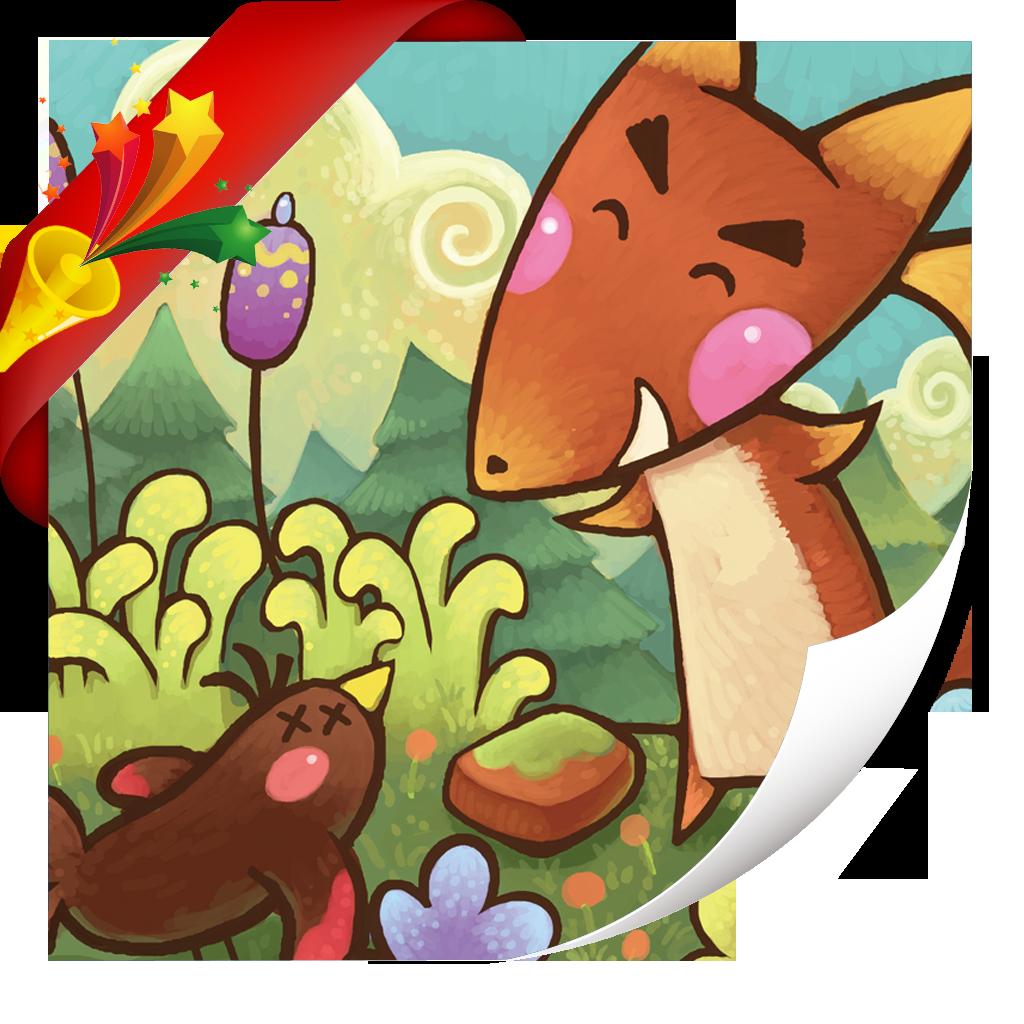 乌鸦和狐狸-小喇叭绘本-yes123(免费)