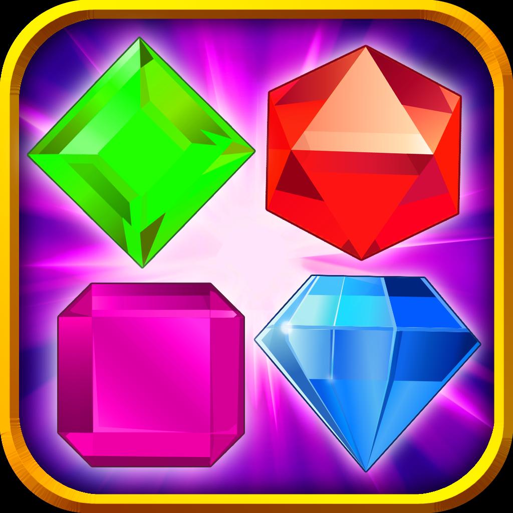 Diamond Blaster Blitz - Free Jewel Matching Game