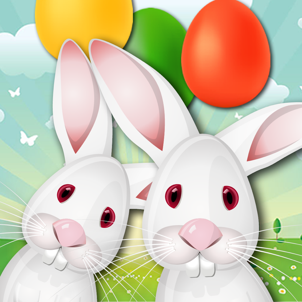 Hop and Pop - Free Easter Egg Shooting Game icon