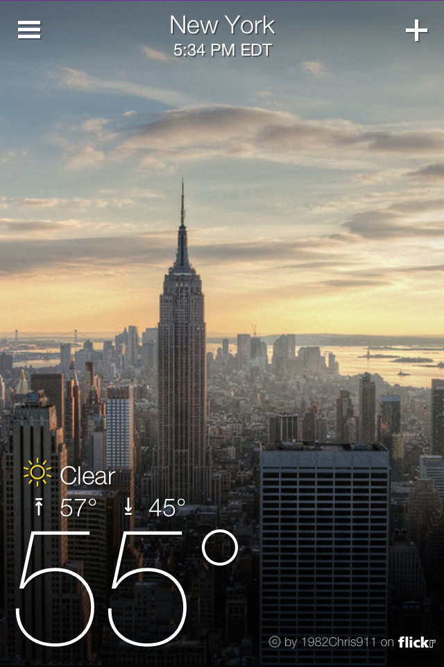 Today 39 s best apps twitter music yahoo weather fish out for Best time to fish today