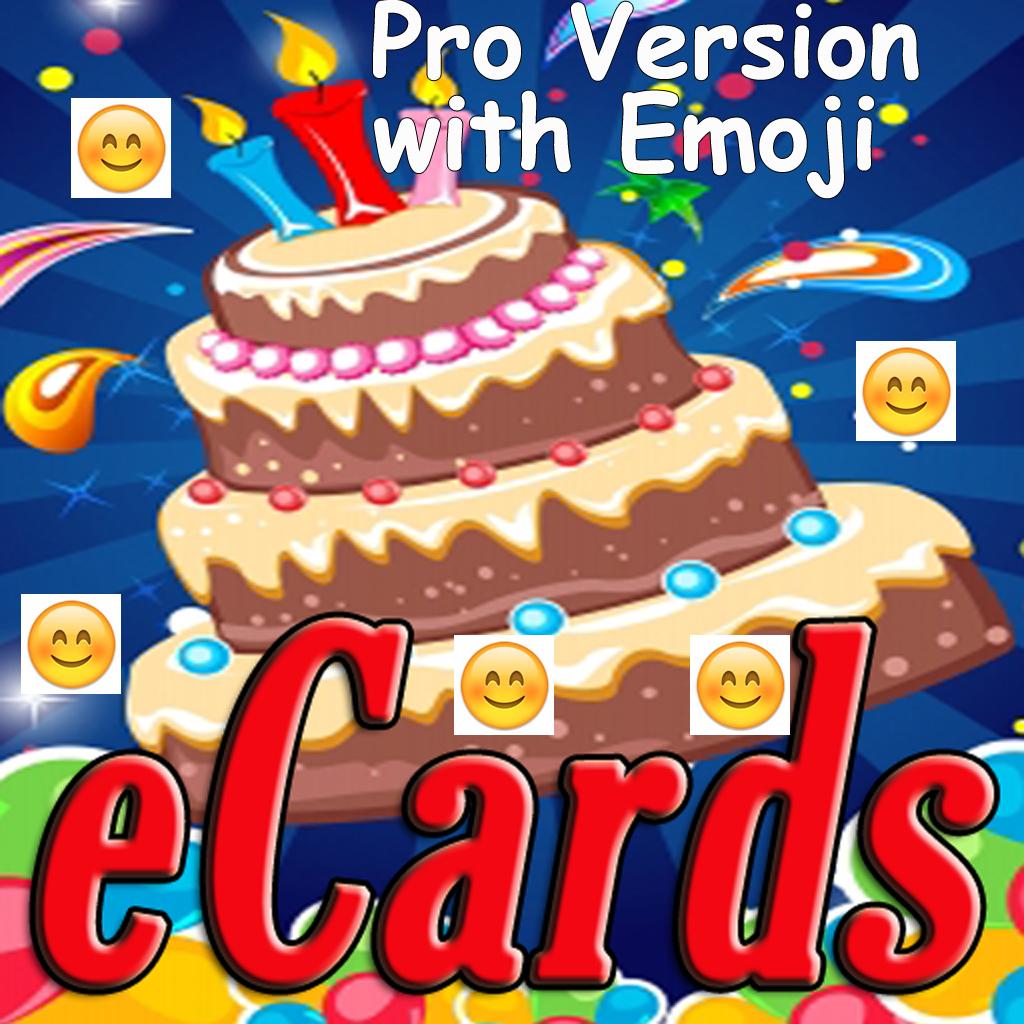 Happy Birthday Cards (Pro Version). Custom And Send