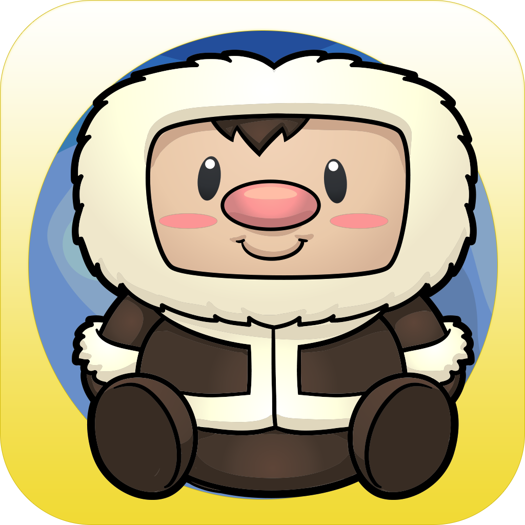 An Eskimo Arctic Snow Tap Line Puzzle - Full Version