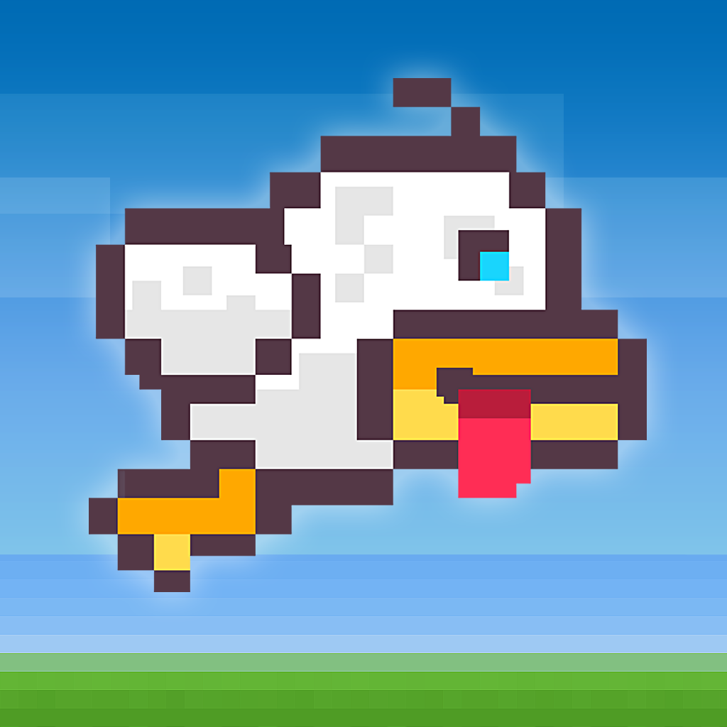 Flappy Duck - flap your wings tiny bird!