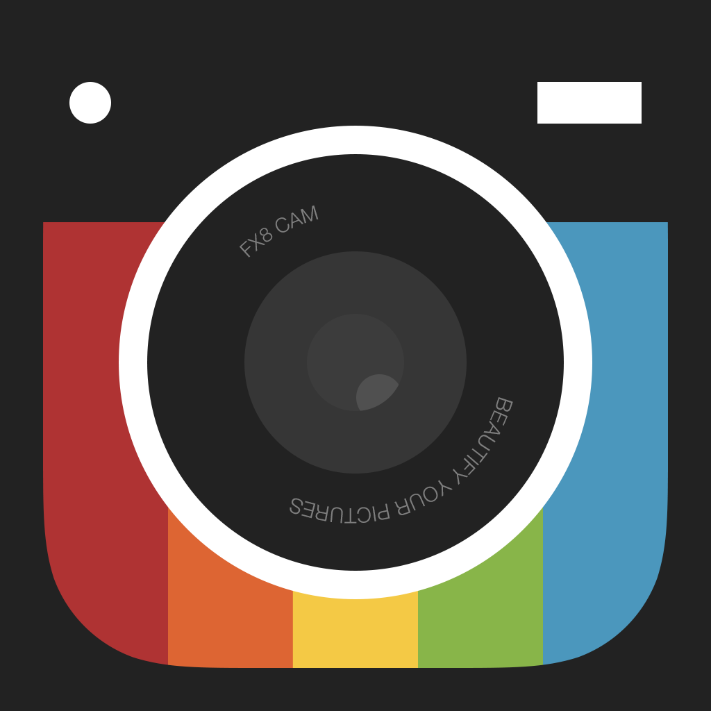 Camera Fx8 Free — Create, Edit and Share Cool Pictures with Photo Editor with Effects, Filters, Shapes