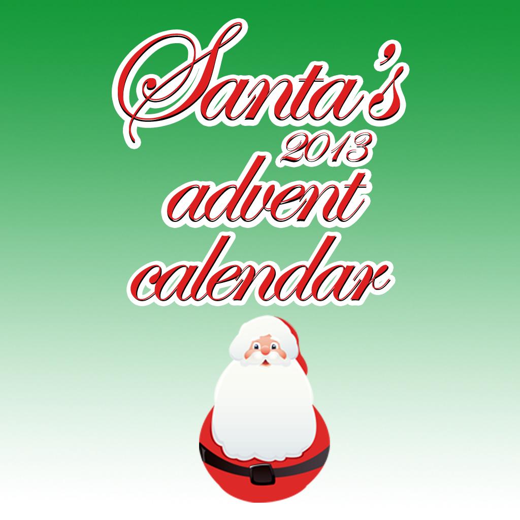 Santa Advent Calendar 2013
