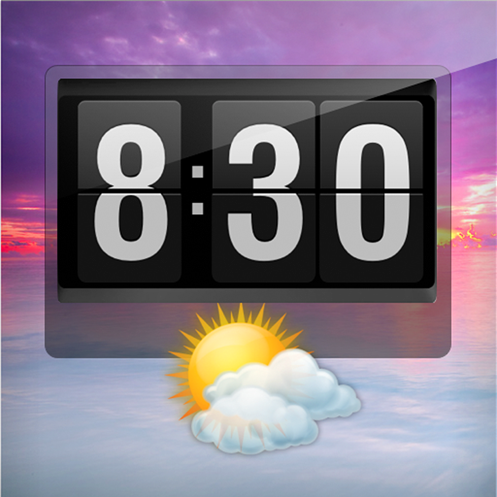 Flip Clock - Weather Alarm Clock and Nightstand for iPhone