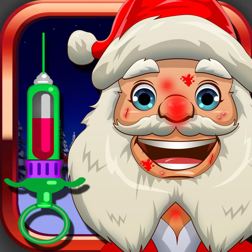 Ace Santa Doctor School - Fun Christmas Kids Games for Girls and Boys