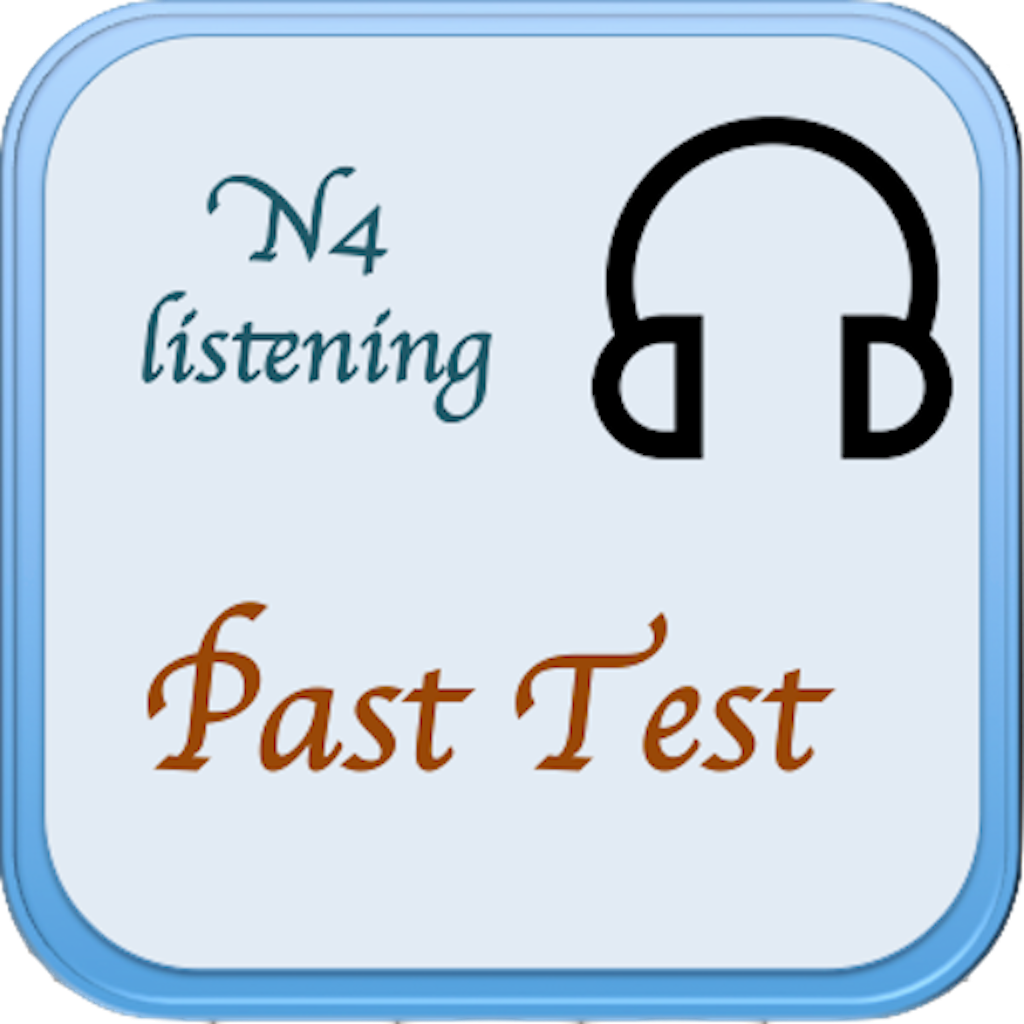JLPT N4 Listening Test | FREE iPhone & iPad app market