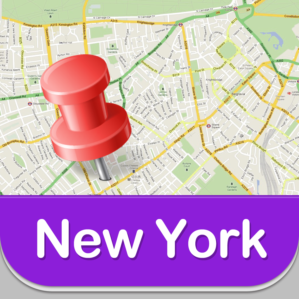 Map New York Offline.New York Offline Map Guide Airport Subway And City Offline Map
