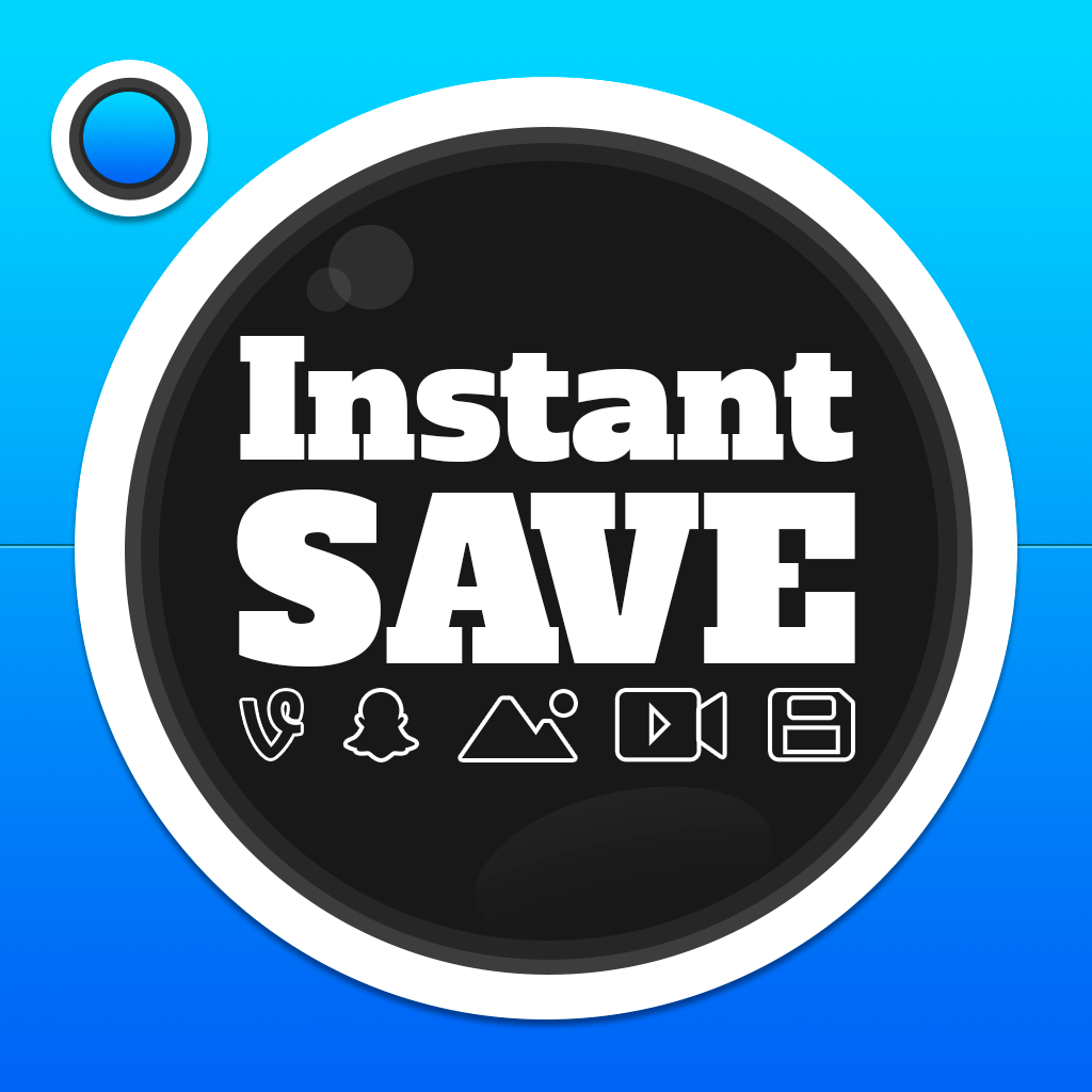 InstantSave for Instagram, Vine and SnapChat