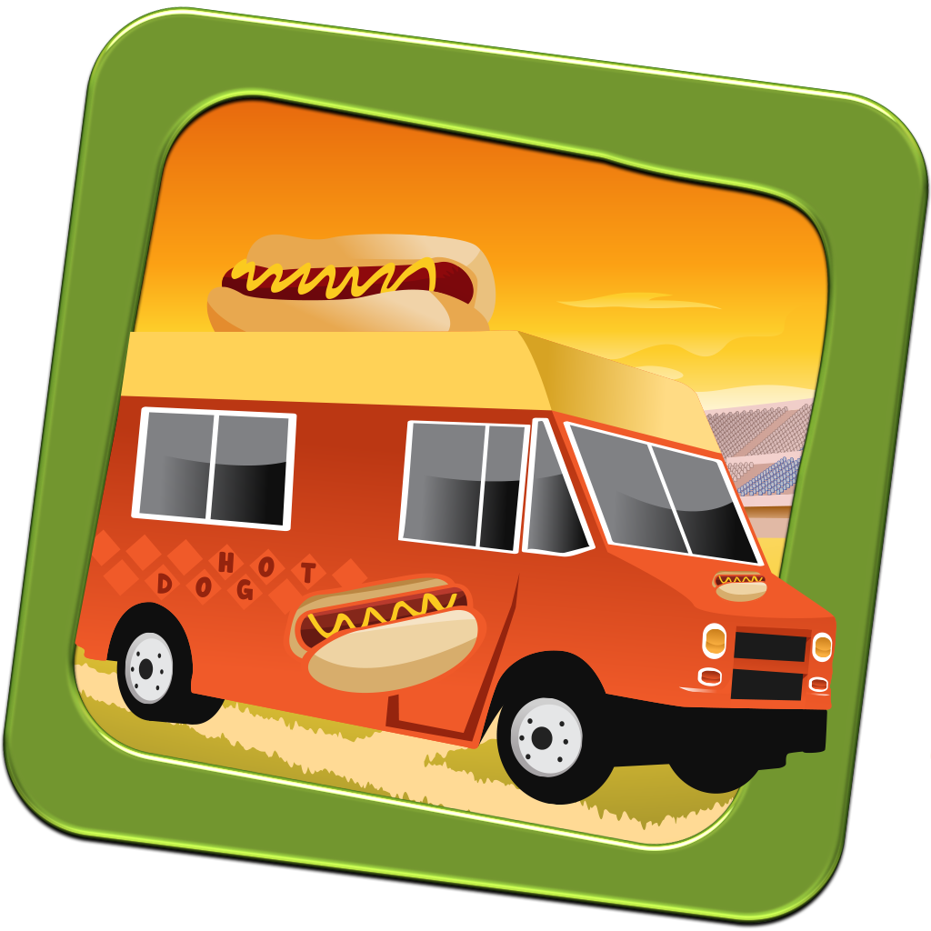 Fast Food Truck - Hotdog Home Run - Full Version