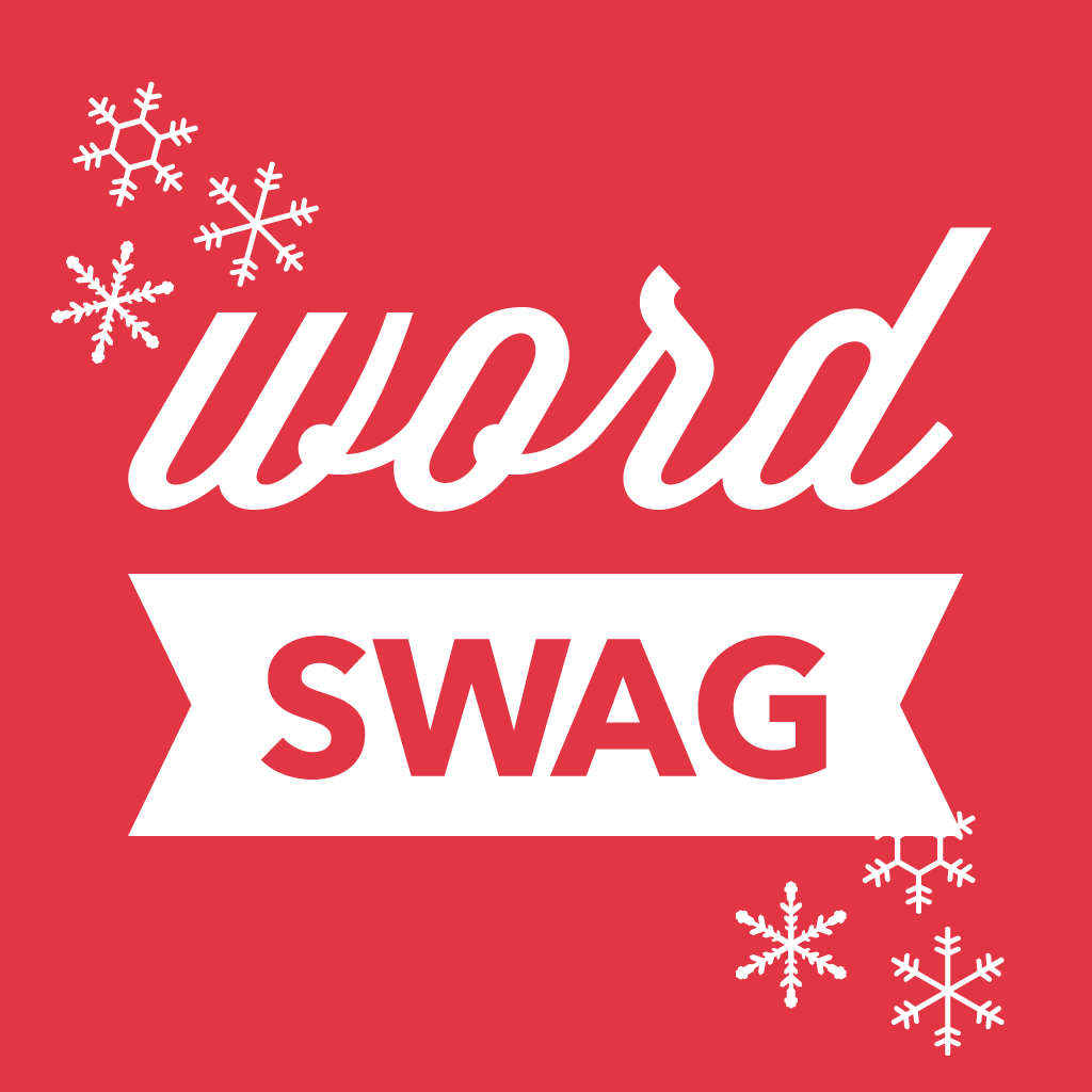 Word Swag - Holiday Special Edition - Christmas greetings & caption generator for your pic