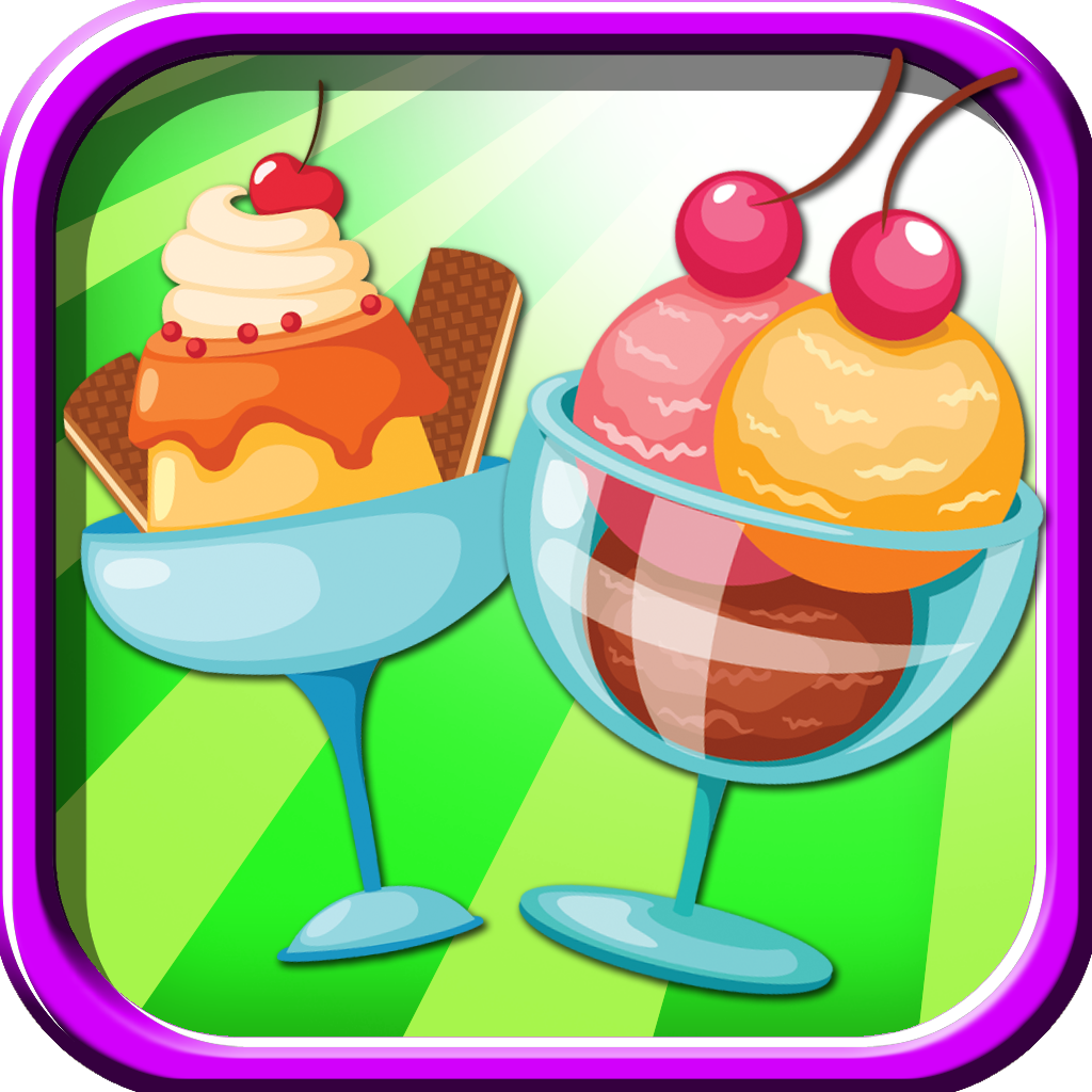 An Ice Cream Scoops Bounce Fun Jump Game