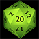 Natural 20 – for Rolling Dice Icon