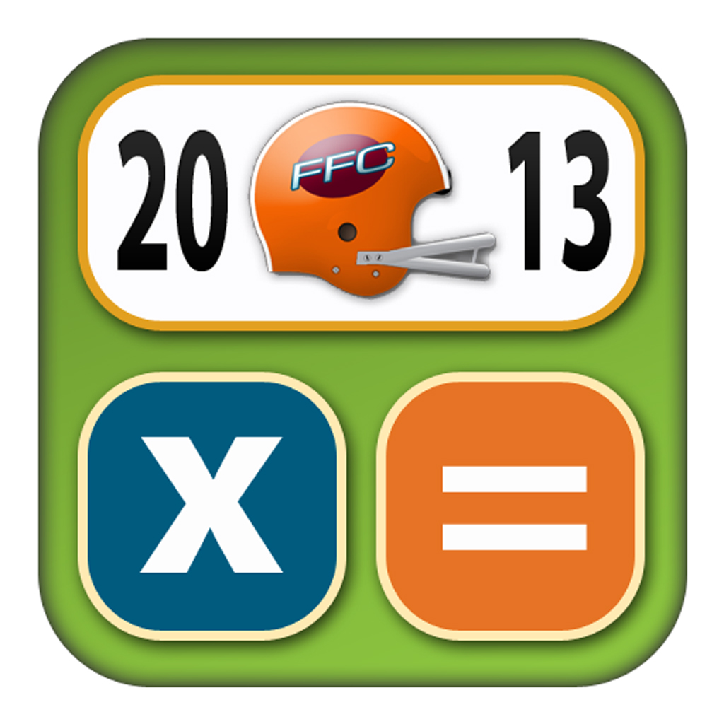 FFC 2013 - Fantasy Football Calculator & Draft Kit