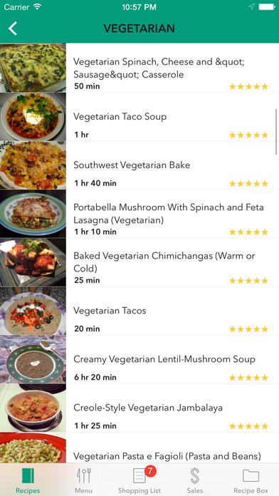 Foodcom Recipes Shopping Lists Meal Plans
