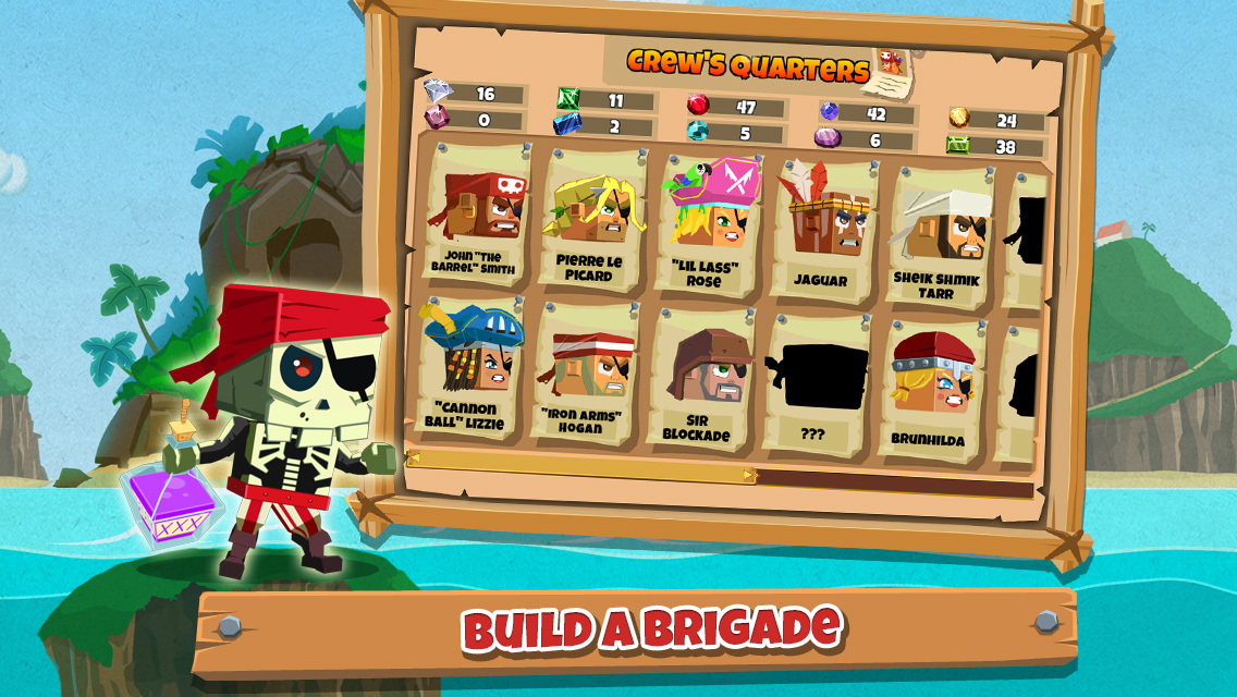 Pirate Bash screenshot-3