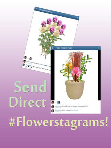 Insta Flower Cards By Shakesperry