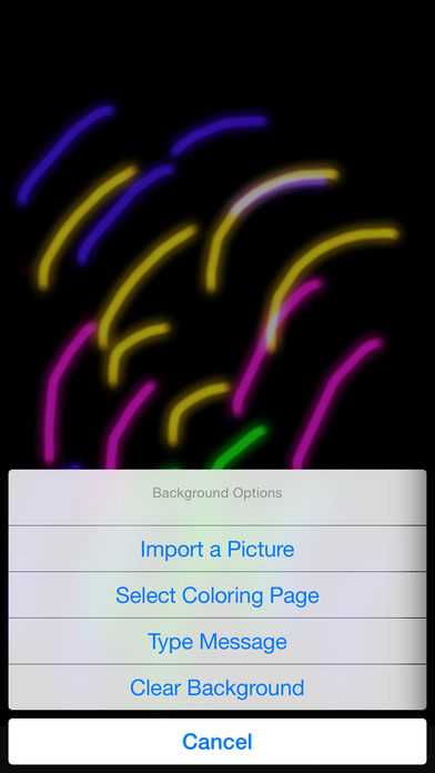 #1. Glow Coloring (iOS)