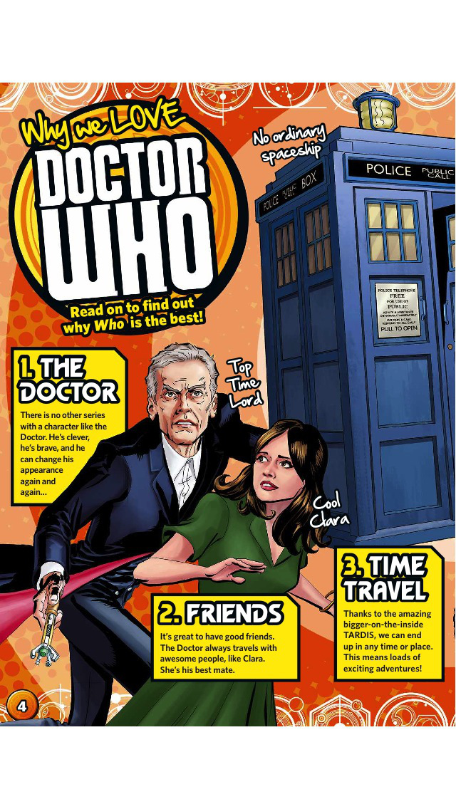 BBC Doctor Who Adventures magazine – for children who love everything about Doctor Who Screenshot
