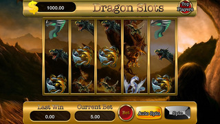 A Amazing Dragon Slots Screenshot on iOS