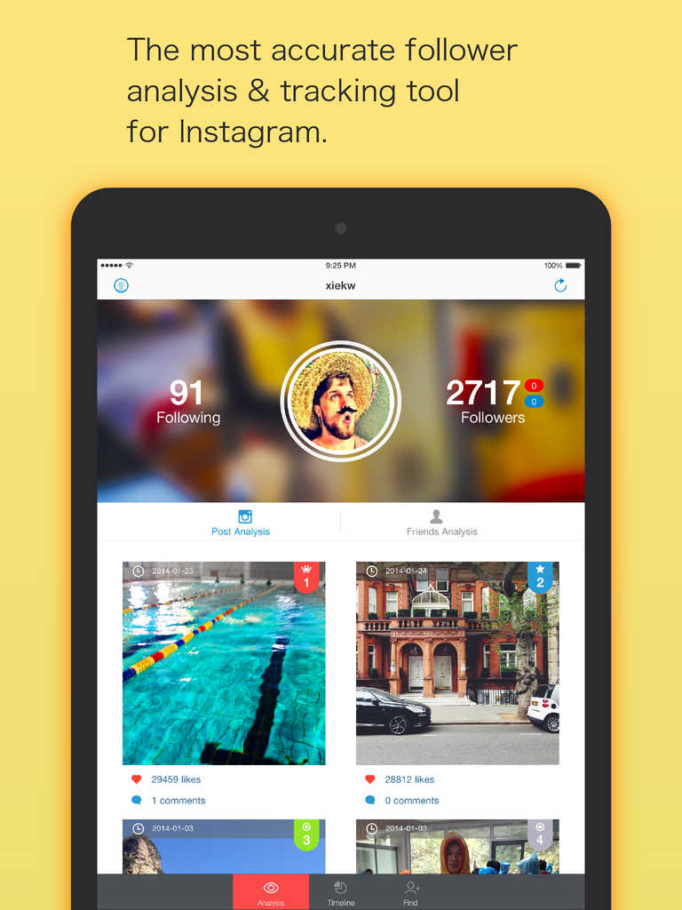 Instagram Manager Tool Ios 8: App Shopper: FollowAnalysis For Instagram