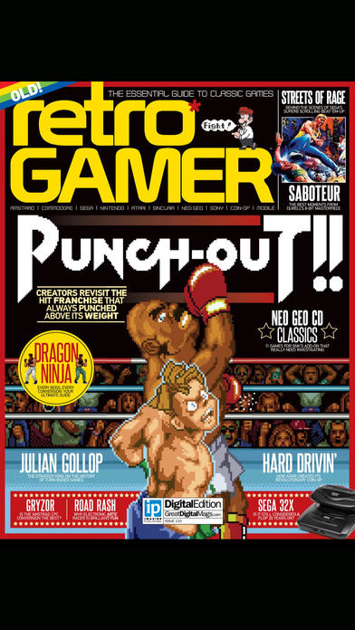 Retro Gamer Magazine: First for classic videogames on the App Store