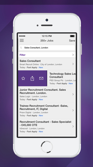 Monster Jobs – Search, Apply & Find New Vacancies Screenshot