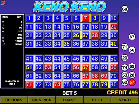 Lucky keno numbers bonus casino games free free download of.
