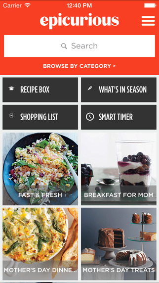 Best Apps for Foodies on iPhone Epicurious