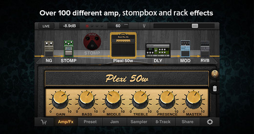 JamUp Pro - Guitar Amps and Multi-Effects Processor with