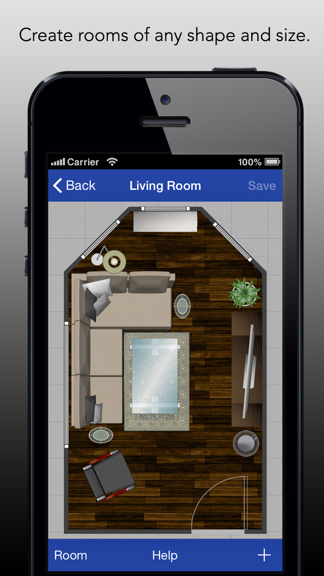 Rooms create room layouts with ease ios - Design your room app ...