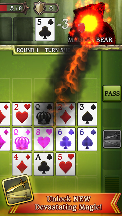 Swords & Poker Adventures Screenshot